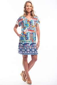 Orientique farebné voľné šaty Algarve Reversible