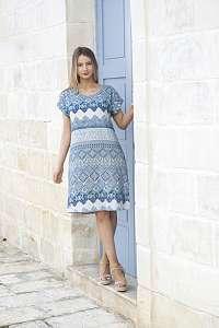 Orientique letné šaty Leon so vzormi