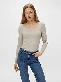 Pieces béžové dámsky sveter
