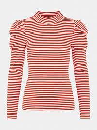 Pieces červené dámske tričko