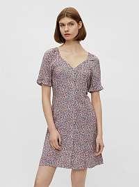 Pieces farebné kvetované šaty Timberly