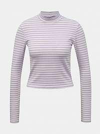 Pieces fialové dámske tričko Raya
