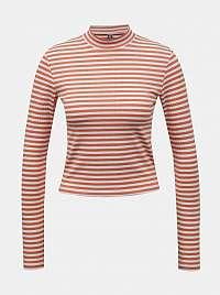 Pieces oranžové dámske tričko Raya
