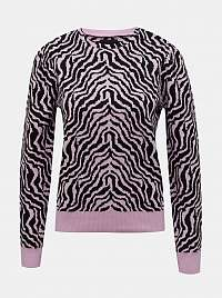 Pieces ružové dámsky sveter
