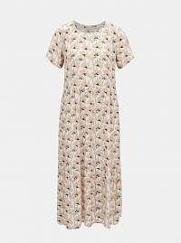 Pieces ružové šaty Viva