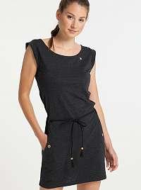 Ragwear čierne šaty Tag