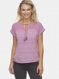 Ragwear fialové tričko Holie