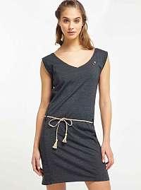 Ragwear sivé šaty Slavka