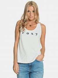 Roxy biele tielko s potlačou