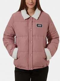 Ružová dámska zimná bunda VANS