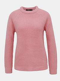 Ružový sveter VERO MODA Lea