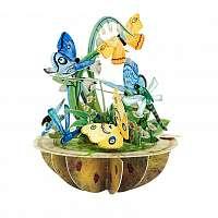 Santoro papierová 3D dekorácia Butterfly And Dragonfly