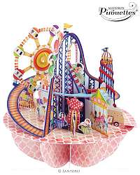 Santoro papierová 3D dekorácia Fairground