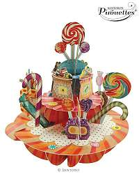 Santoro papierová 3D dekorácia Sweet&Candy