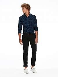 Scotch&Soda modrá pánska košeľa All Over Printed