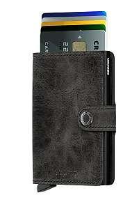 Secrid špeciálna kožená peňaženka Mini Wallet Vintage Black