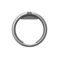 Šikovný krúžok na kľúče Orbitkey Ring - strieborný a sivý
