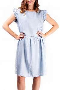 Simpo modré denimové šaty Denim Life  - U