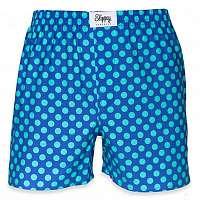 Slippsy modré pánske trenírky Ocean - S