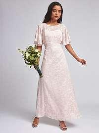 Svetlo ružové kvetované maxišaty Dorothy Perkins