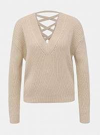 Tally Weijl béžové dámsky sveter