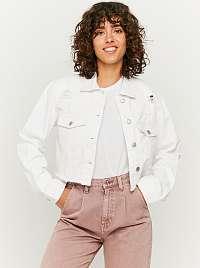 Tally Weijl biele krátka džínsová bunda