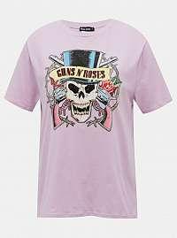 Tally Weijl fialové tričko