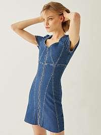 Tally Weijl modré džínsové šaty
