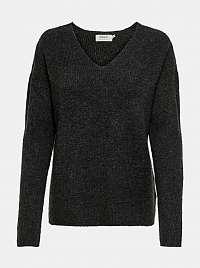 Tmavo šedý sveter ONLY Camilla