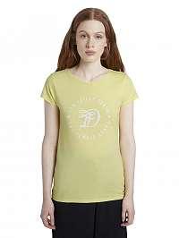 Tom Tailor Denim žlté tričko s logom