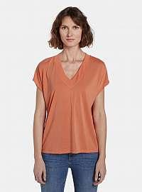 Tom Tailor oranžové dámske tričko