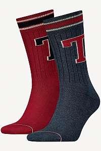 Tommy Hilfiger 2 pack ponožiek TH Men TH Patch Sock 2P --46