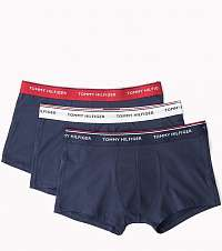 Tommy Hilfiger 3 pack pánskych boxeriek Low Rise Trunk Premium Ess - S