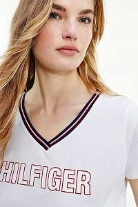 Tommy Hilfiger biele dámske tričko CN TEE SS s logom