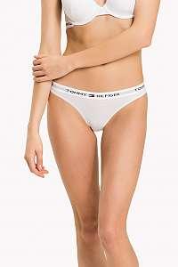 Tommy Hilfiger biele nohavičky Bikini Iconic - XL