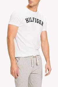 Tommy Hilfiger biele pánske tričko SS Tee Logo