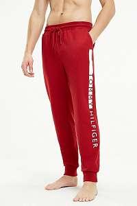 Tommy Hilfiger červené pánske tepláky Track Pant s logom - XL