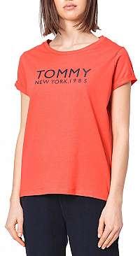 Tommy Hilfiger červené tričko SN TEE SS - L