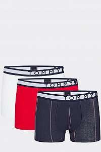 Tommy Hilfiger farebné 3 pack pánske boxeriek 3P Trunk Stripe - XXL