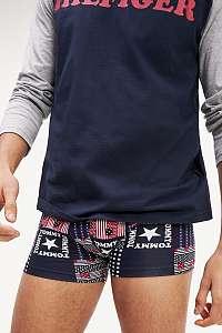 Tommy Hilfiger farebné pánske boxerky Trunk Patchwork - XL