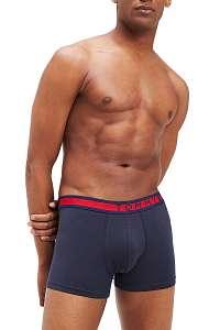 Tommy Hilfiger modré 3 pack boxeriek 3P Trunk