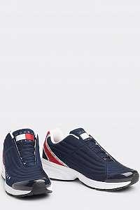 Tommy Hilfiger tmavomodré pánske tenisky Heritage Tommy Jeans Sneaker RWB -