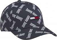 Tommy Hilfiger modré šiltovka TJW Flag Cap Print