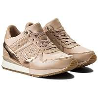 Tommy Hilfiger púdrové tenisky Metallic Sneaker Wedge Dusty Rose  -