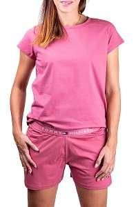 Tommy Hilfiger ružové tričko CN TEE SS - L