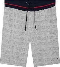 Tommy Hilfiger sivé pánske kraťasy Jersey Short Logo Grey HTR