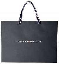 Tommy Hilfiger tmavomodrá papierová taška