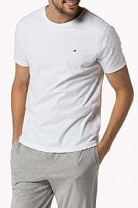 Tommy Hiliger biele pánske tričko Tee Icon