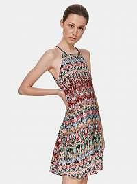 TOP SECRET farebné vzorované šaty