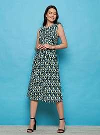 Tranquillo modré šaty Aiko